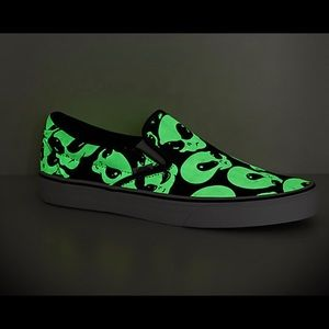 Vans Shoes - Vans Alien Slip On Glow in The Dark Men's Shoes